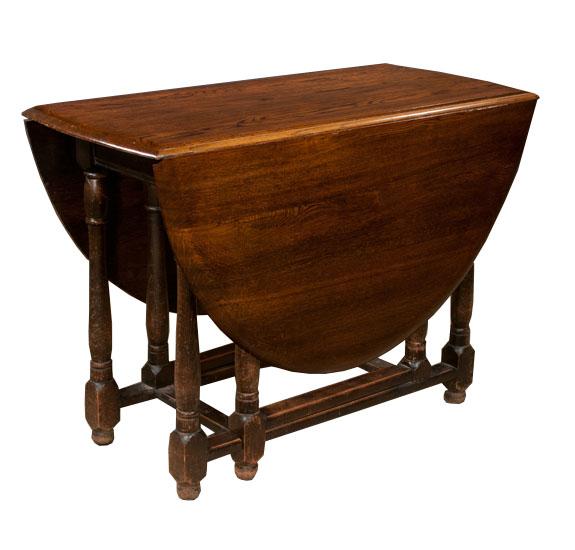 Jacobean Style Gate Leg Table Sold