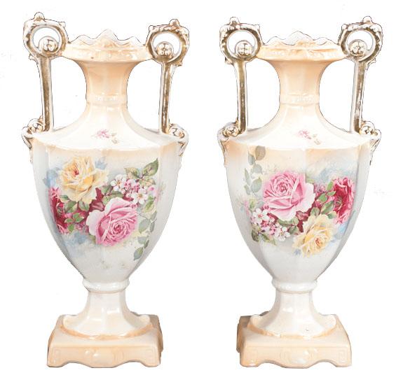 English China Vases Montgomery Antiques Interiors