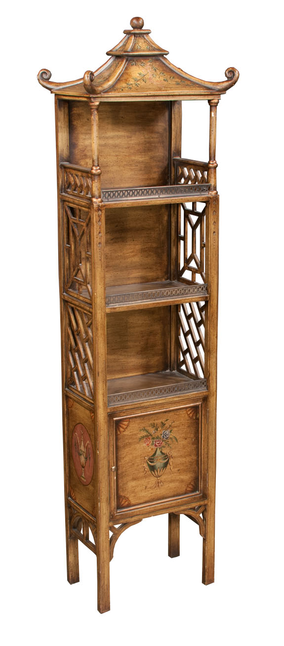 Chinese Chippendale Style Cabinet Montgomery Antiques