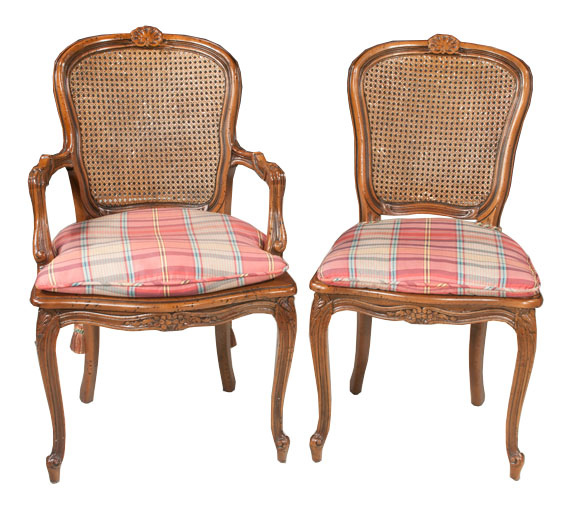 Set Of 10 Country French Style Dining Chairs Sold Montgomery