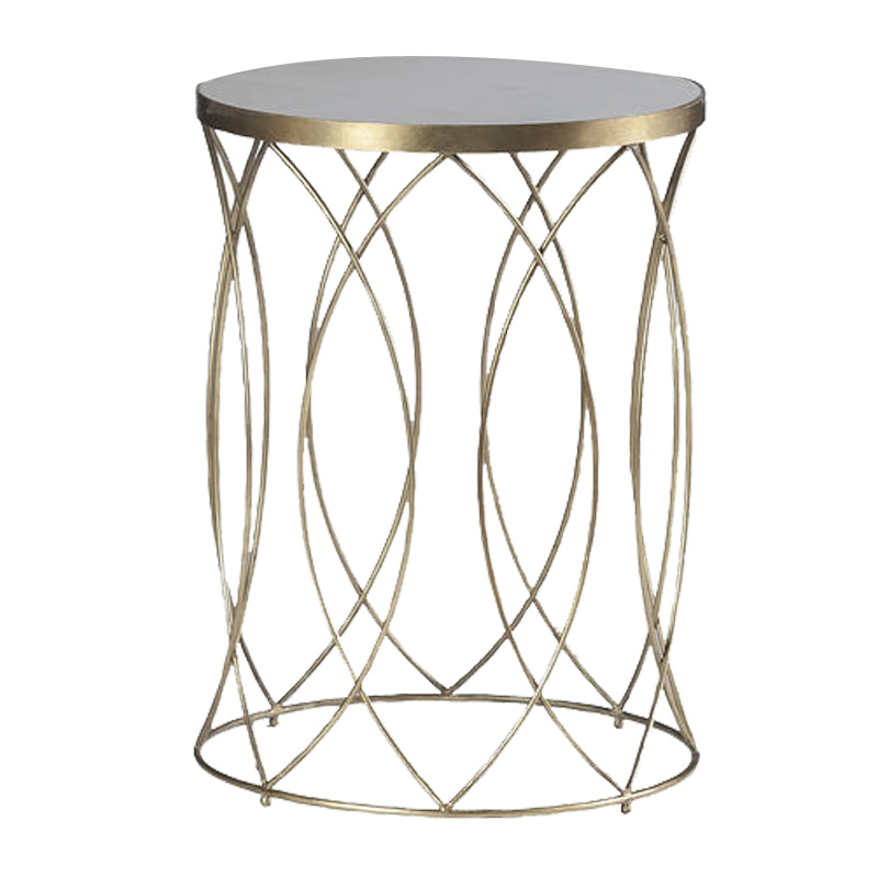 Drum Shaped Accent Table