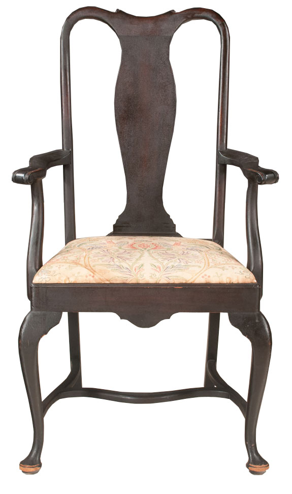 Astonishing Queen Anne Armchair Gmtry Best Dining Table And Chair Ideas Images Gmtryco